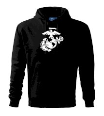 United Marines logo Mikina s kapucňou hooded sweater
