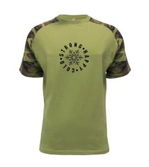 Cold strong happy Raglan Military