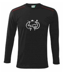 The moon and back Tričko s dlhým rukávom Long Sleeve