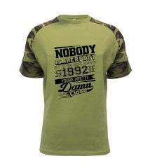 Nobody is perfect - 1992 Raglan Military