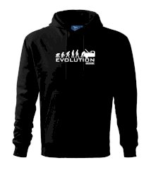 Evolúcia mechanik Mikina s kapucňou hooded sweater
